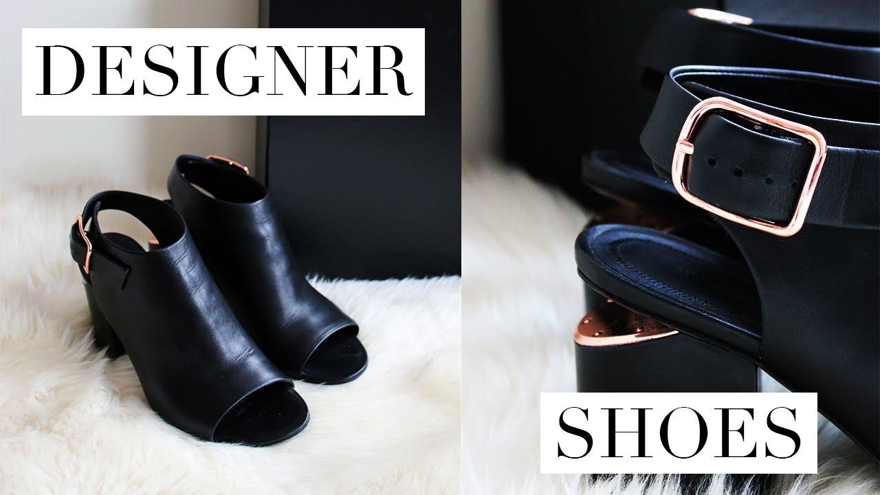 DESIGNER SHOES REVIEW | Alexander Wang Nadia Sandals