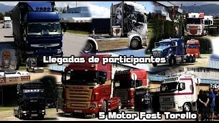 preview picture of video 'Catalonia Truck Photos | Llegadas 5 Motor Fest Torello'