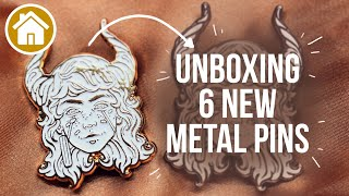 Unboxing and Revealing 6 New Metal Pins!