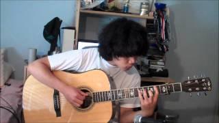 【あの花】Ano Hana OP- Aoi Shiori - Galileo Galilei Acoustic Guitar Cover