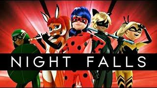 Night Falls   Miraculous Ladybug    Descendants 3Descendientes 3