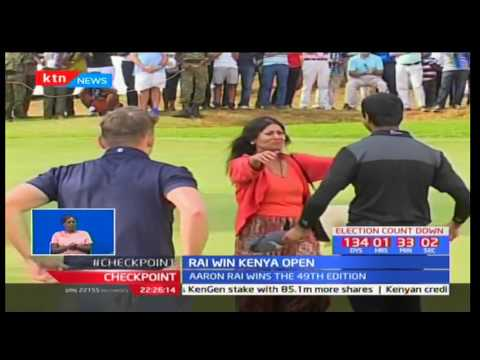 Aaron Rai wins 49th edition of Kenya Open Golf Tournament