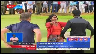 Aaron Rai wins 49th edition of Kenya Open Golf Tournament