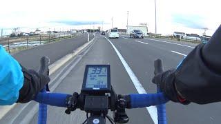 ロードバイク型電動アシスト自転車YAMAHAYPJ-R動作テスト&ポタリング動画electricbikeYPJ-R