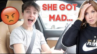 TEEN takes out parents car! *Mom is really mad! | Brock and Boston