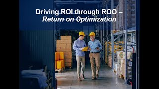 YouTube Webinar: Driving ROI through ROO - Return on Optimization