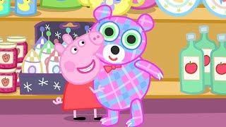 Свинка Пеппа на русском все серии подряд 🧸 Магазин мистера Лиса   Мультики