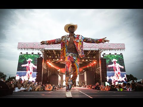 "LIL NAS X SINGS UNRELEASED ""PANINI"" + Old Town Road @ Rolling Loud ( FULL )"