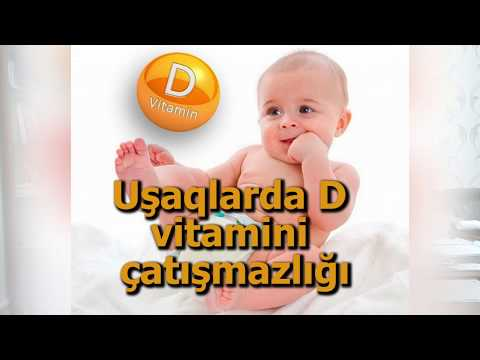 D vitamini defisitinin uşaqlarda əlamətləri. Pediatr Sevinc Əliyeva