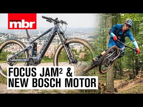 Focus Jam² with the all new Bosch Performance CX | First Ride | Mountain Bike Rider