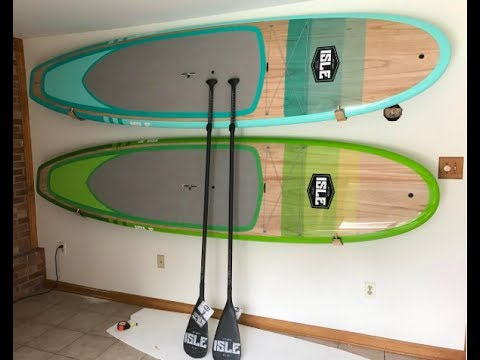 "2017 (10'10"") Isle Gliders Paddle Board unboxing"