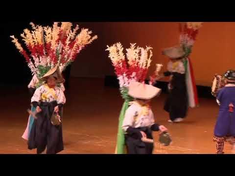 「鉦踊り/栗須小学校文化財愛護少年団」(第6回小林市郷土芸能フェスティバル)