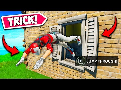 *NEW TRICK* JUMP THROUGH ANY WINDOW!! - Fortnite Funny Fails and WTF Moments! #714