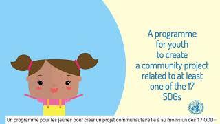 What is Generation SDG? | Qu'est-ce que le programme Génération ODD?