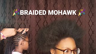 Kids Braided Mohawk| While Quarantined ❤‼