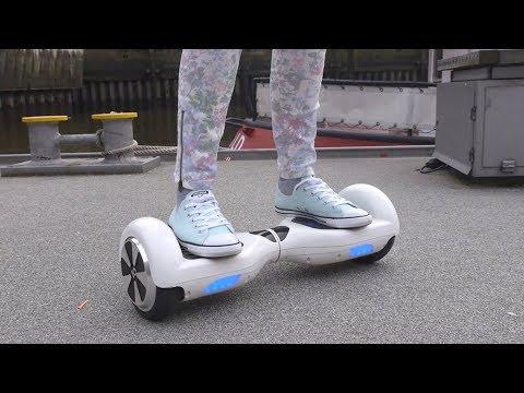 IO Hawk ausprobiert: Segway trifft Skateboard