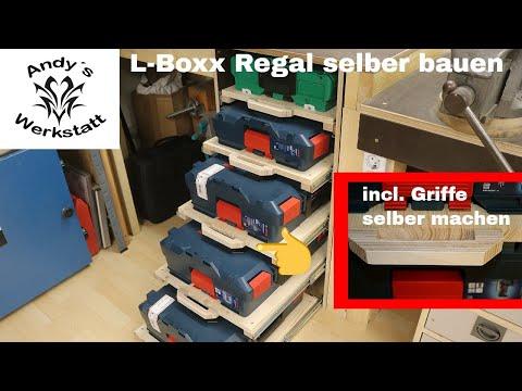 L Boxx Regal mit Vollauszug / incl. Griffe selber machen