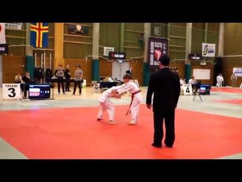 Emriks ura-nage från Södra Judo Open 3