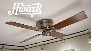 Hunter Low Profile III Ceiling Fan | Studio Remake
