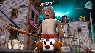 GRANNY DESTROYS PENNYWISE IN ROBLOX!