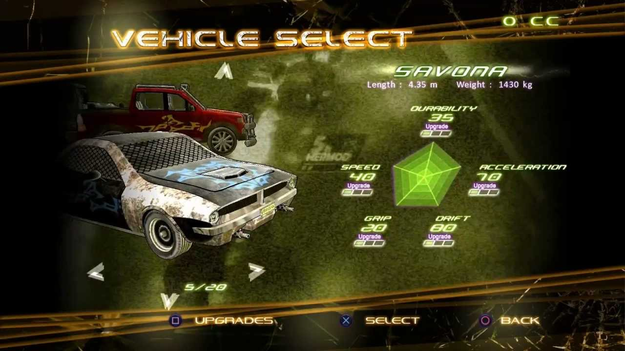 Fuel Overdose on PSN: Giving Combat Racing an Infusion of Strategy