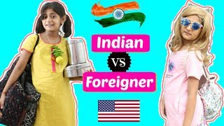 Indian vs Foreigner ... | #Travel #Roleplay #Sketch #Fun #ShrutiArjunAnand #MyMissAnand
