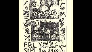 7 Seconds - Live @ VFW #18, Kansas City, MO, 9/21/84