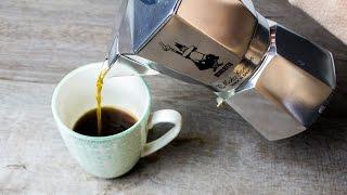 Kaffe Espresso kochen mit dem Bialetti Espressokocher & Bialetti reinigen
