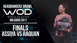 Assiya vs Raquan | Headbangerz Brawl Finals | World of Dance Orlando 2017 | #WODFL17