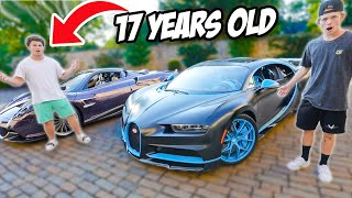 The Insane Life of a Billionaire's Son! ($20M HyperCar Collection)