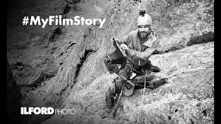 "Anton #MyFilmStory - Capturing the spirit of a mountain on 5x7"" black & white film"