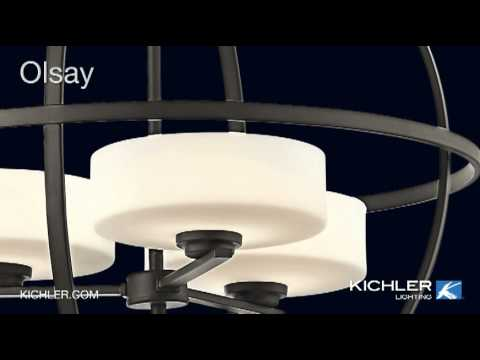 Video for Olsay Olde Bronze Three-Light Pendant