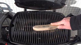 [Grillen mit Gas] #029 - Gasgrill sauber machen [Rezepte für Q100-Q1000-Q1100-Q1200-Q2200-Q3200-]