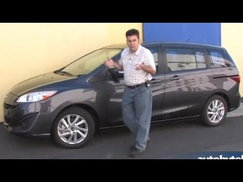 2014 Mazda5 Minivan Test Drive Video Review