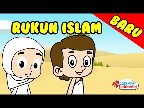 Lagu anak islami   rukun islam ada lima   lagu anak indonesia