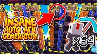THE BEST AUTO AFK COBBLESTONE GENERATOR (NEW) | Minecraft Skyblock | VanityMC | Hogwarts [4]