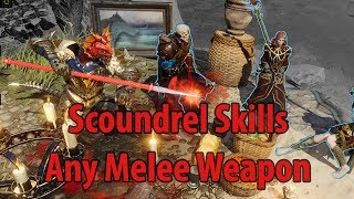 Scoundrel Skills - Any Melee Weapon