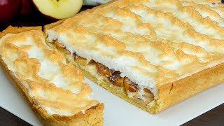 Творожная начинка, яблоки и безе - вкуснейшая сладость отлично дополнит чаепитие! | Appetitno.TV