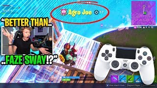 I spectated a GHOUL TROOPER that's BETTER than FaZe Sway on controller... (shocking)
