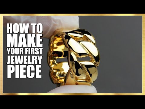 How To Make Your First Piece Of Jewelry ( Starting A Jewelry Business)
