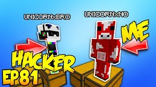 CHANGING MY NAME TO TROLL HACKER! Minecraft Hacker Trolling EP81