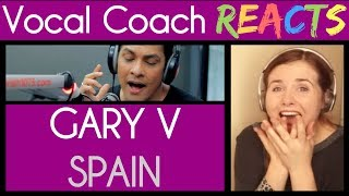 Vocal Coach Reacts to Gary Valenciano singing Spain