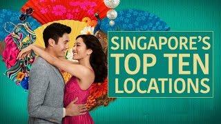 CRAZY RICH ASIANS - SINGAPORE LOCATIONS!