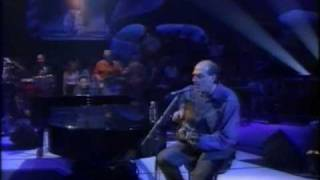 "Dave Swift on Bass with Jools Holland backing James Taylor ""Line em up"" & ""Fire and Rain"""