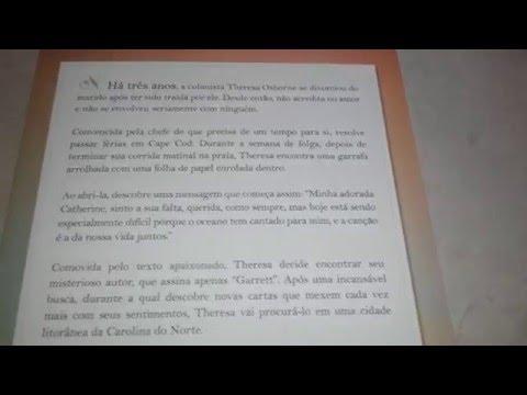 Review - Livro Uma carta de amor
