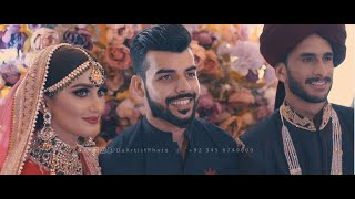 Hassan Ali Crickter & Samiya Wedding Video | The Knot