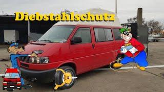 Diebstahlschutz für euren Bus! - Sicherheit für den VW T4 und weitere Busse