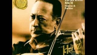 Jasha Heifetz Bach Sonata C major Fugue alla breve