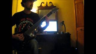 The Acacia Strain - Nightman (Guitar Cover)
