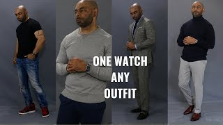 How To Wear One Watch With Any Outfit
